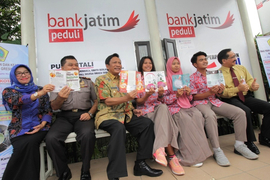 LAUNCHING PERPUS MINI KOTA WALI (PUSMINTALI)