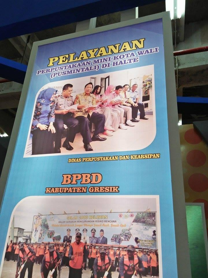 Pusmintali Hadir pada Event Gelar Pameran dan Simposium Pelayanan Publik Jawa Timur 2017