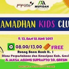 Sambut Ramadhan Perpusda Gelar Ramadhan Kids Club